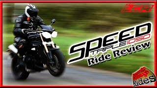 Triumph Speed Triple 1050 - Review Ride (60FPS)