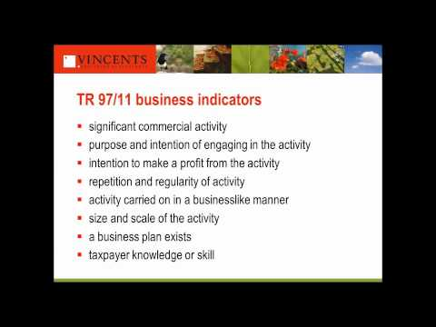 Vincents Chartered Accountants New Small Business Tax Measures Webinar September 2015