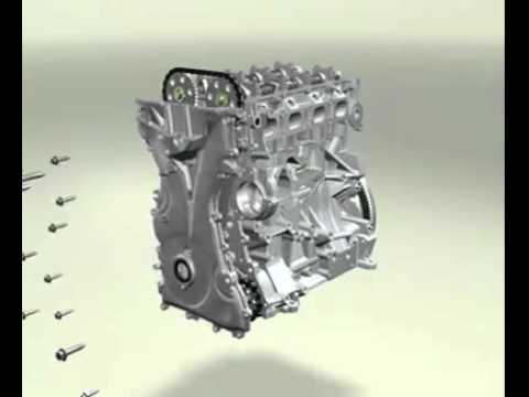 Video 3D  Động cơ diesel Deutz Engine