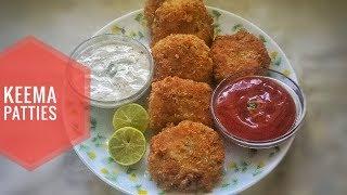 Aloo Keema Patties Recipe in Hindi   Haniya