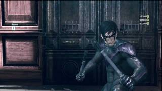 Arkham City - Nightwing DLC Gameplay #1