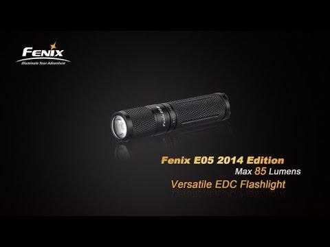 Fenix E05 2014 Edition 85 Lumen LED KeyChain AAA EDC Flashlight Review