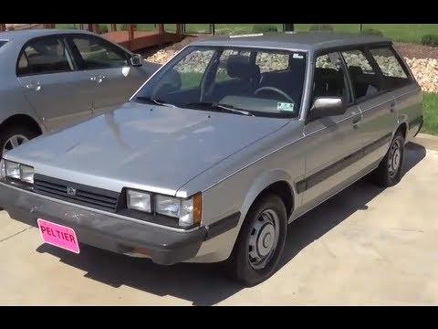 2013 Subaru Impreza Wrx Hatchback >> 1988 Subaru Impreza DL Interior & Exterior Tour - YouTube