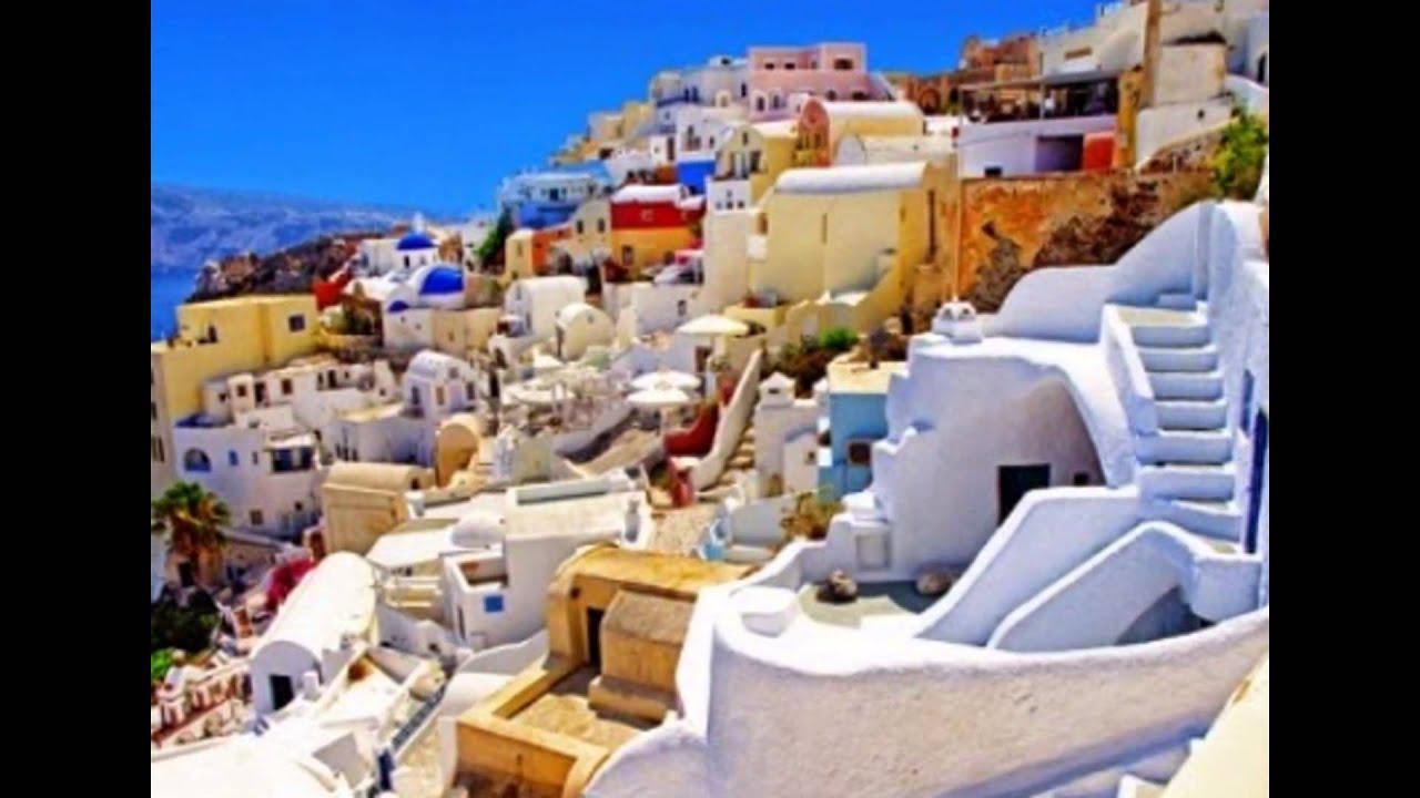Islas griegas atenas y santorini youtube for Casas en islas griegas