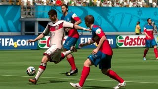 FIFA World Cup 2014: United States vs Germany (Group G) Simulation (EA FIFA World Cup 2014 Brazil)
