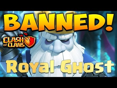 ROYAL GHOST BANNED! CLASH OF CLANS NEW TROOP WORLD CHAMPIONSHIP UPDATE! COC