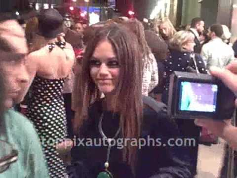 Rachel Bilson - Signing Autographs at 'Coco Before Chanel' Premiere in NYC