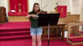 God Bless America   Violin 2