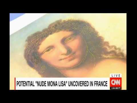 Art scholars in France believe they may have found a 'Nude Mona Lisa'