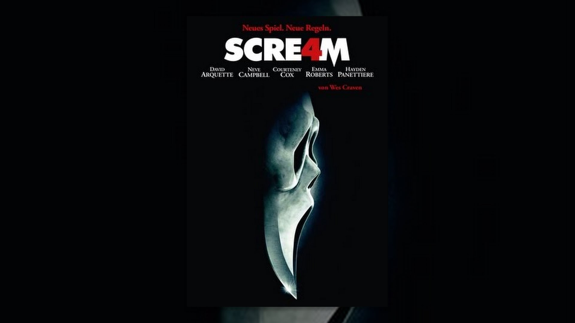 a movie analysis of scream by wes craven