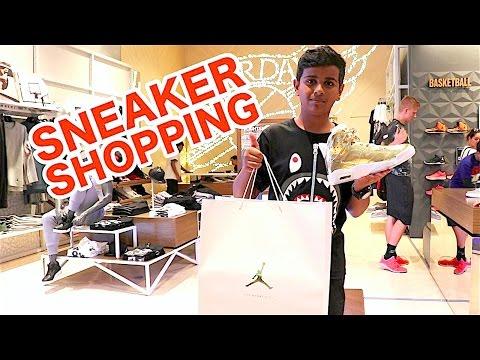 SNEAKER SHOPPING IN DUBAI !!!