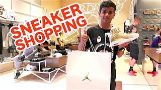 SNEAKER SHOPPING IN DUBAI !!!