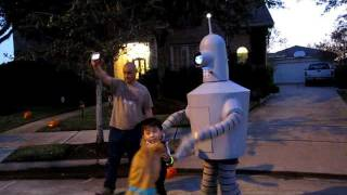 My Bender Costume