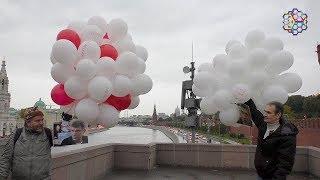 Шарики полетели на Кремль