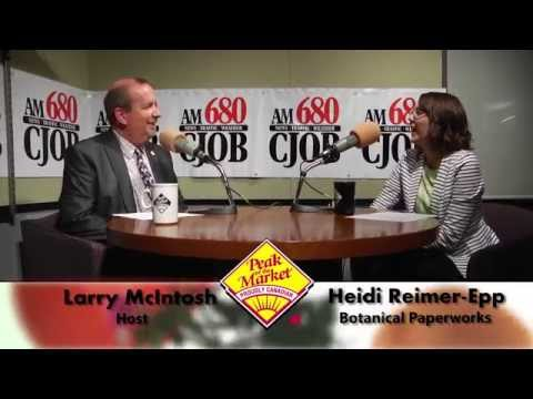 Food and Friends with Larry McIntosh & Heidi Reimer-Epp, Botanical Paperworks