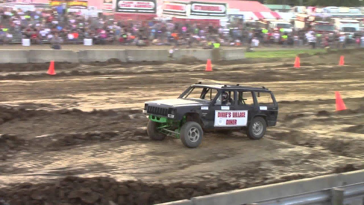 Xj jeep cherokee tough truck race youtube