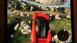 mercenaries 2 crazy car driving part 1