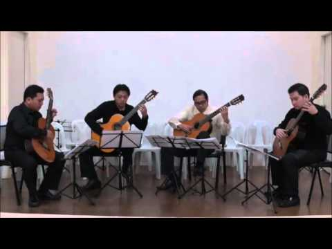 Ritwal - Bayani de Leon performed by the Manila Guitar Quartet