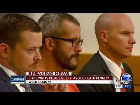 Chris Watts reaches plea deal to avoid death penalty in deaths of pregnant wife, 2 daughters