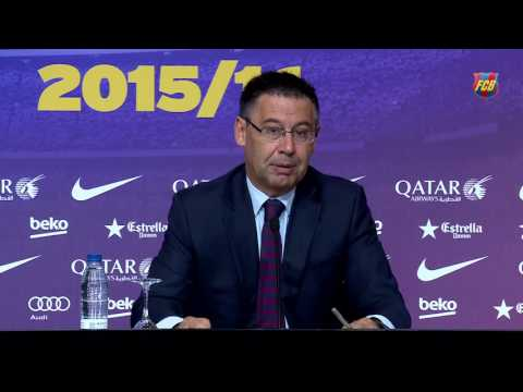 "Bartomeu: ""in the next few days we will finalise Neymar's contract extension"""