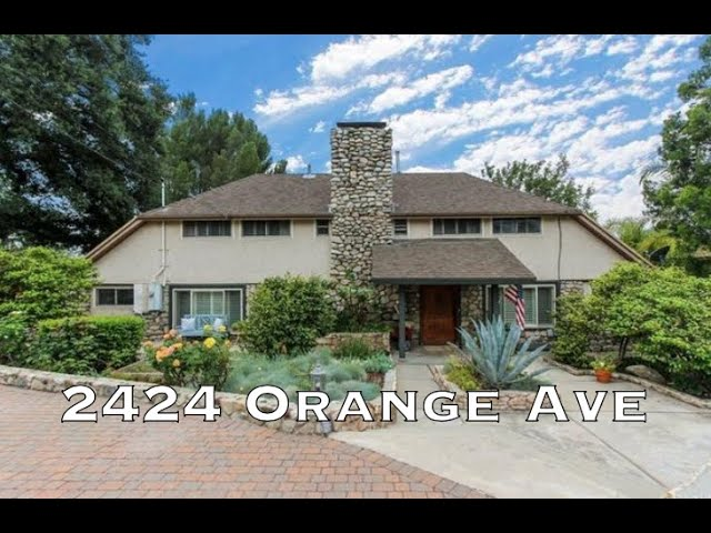 2424 Orange Avenue, La Crescenta CA 91214