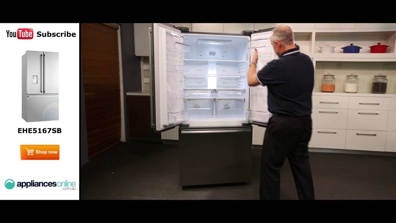 510l Electrolux 3 Door Fridge Ehe5167sb Reviewed By Product Expert