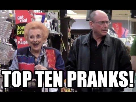 Top Ten Supermarket Pranks