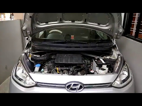 How to clean air filter of car Hyundai Xcent or Grand i10