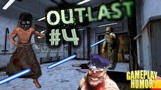 OUTLAST #4 / ¡Ya tengo pistola laser! / Gameplay Español Humor
