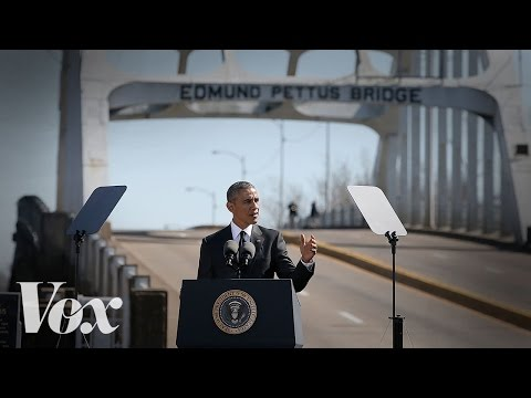 The 3 most important parts of Obama's emotional speech in Selma
