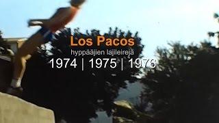 kaitafilmi (28/28) | Yleisurheilu | Los Pacos 1974-1976 | hyppääjien harjoittelua