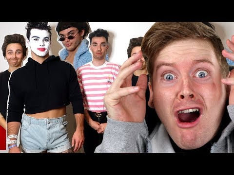DRESSING UP AS EACHOTHER ft Dolan Twins & James Charles - Sister Squad Reaction thumbnail