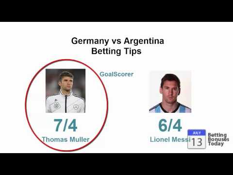 Argentina Germany Betting Tips World Cup Final 2014