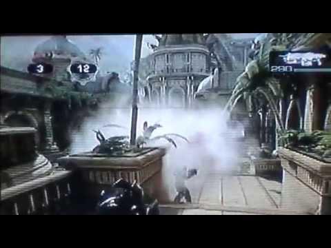 Gears of War 3. Maestro Gnasher vs. Experto Gnasher.