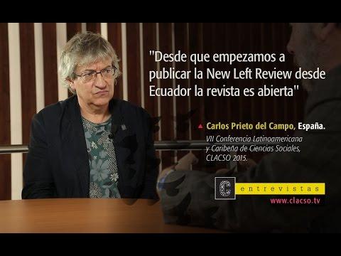 """Carlos Prieto: """"La New Left Review se publica desde Ecuador y en acceso abierto"""""""