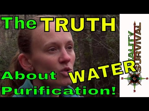 The Truth About Water Purification In A Wilderness Survival Situation