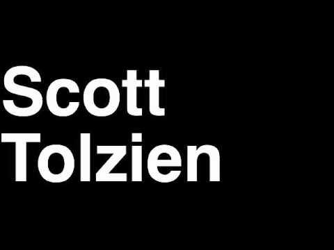 How to Pronounce Scott Tolzien QB San Francisco 49ers NFL Football Touchdown TD Tackle Hit Yard Run