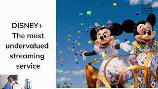 Is Disney the most undervalued stock in 2019? - the underdog of streaming service