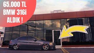 65.000 TL'YE BMW 316İ ALDIK ! (AİRLİ,MODİFİYELİ)
