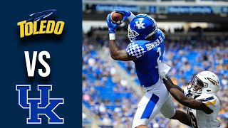 Toledo vs Kentucky Highlights Week 1College Football 2019
