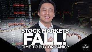 Stock Markets Fall! Time to Panic or Buy? by Adam Khoo