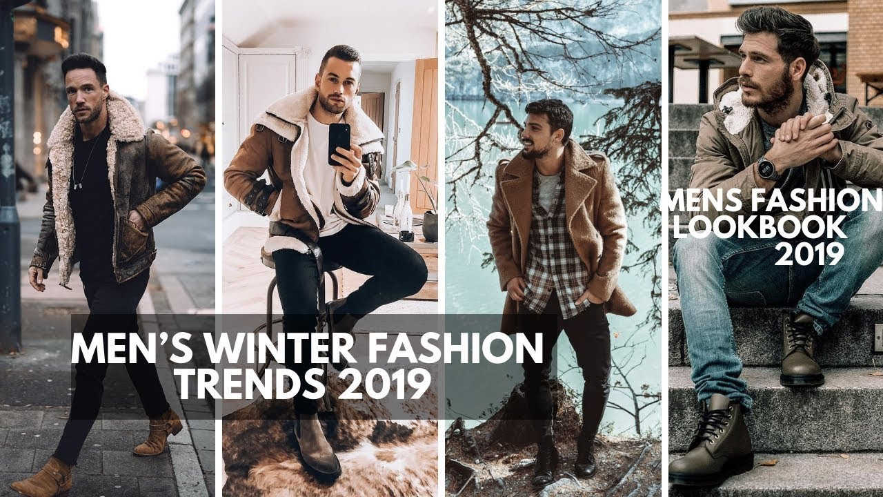 Men S Winter Fashion Trends Lookbook Men S Fashion Style