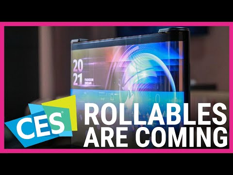 Are rollable screens the future of TVs and phones?