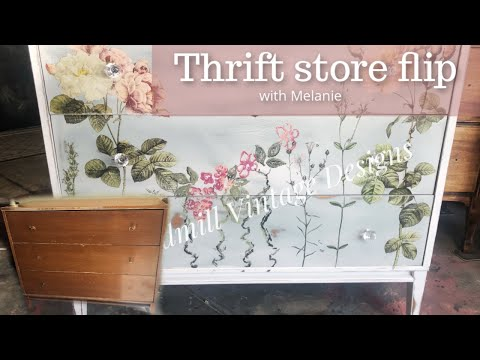 Furniture Makeover my thrifting flip