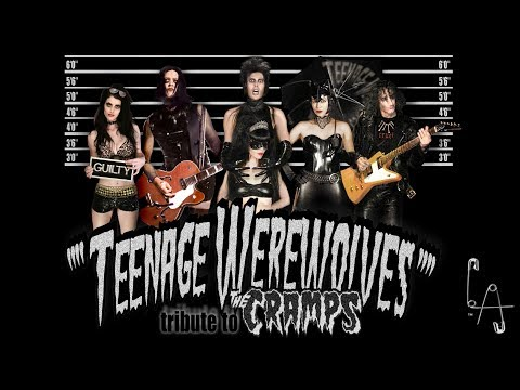 TEENAGE WEREWOLVES - Cramps Halloween 2016 (at the Monty L.A.)