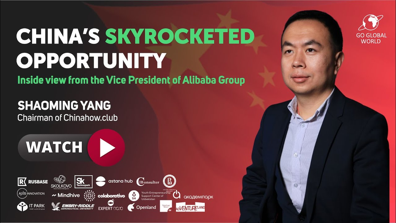 #53 China's skyrocketed opportunity - inside view from the ex-Vice President of Alibaba Group