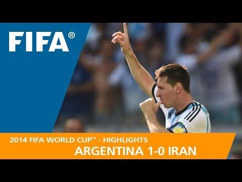 ARGENTINA v IRAN (1:0) - 2014 FIFA World Cup™