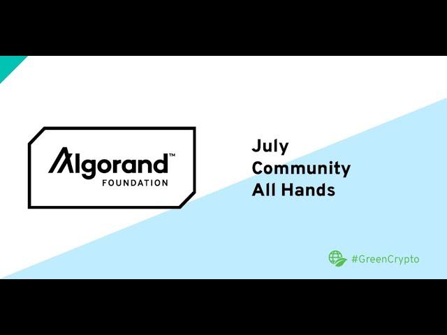 【録画&文字起こし】アジア太平洋アルゴランド財団コミュニティ・オールハンド 2021年7月