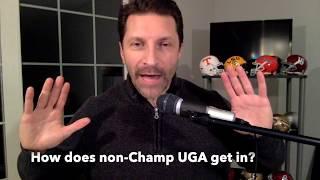 SEC College Football Playoff Scenarios / TWO OR ZERO?