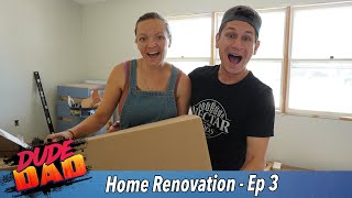 Moving into our half renovated house   Our Home Renovation - Ep 3